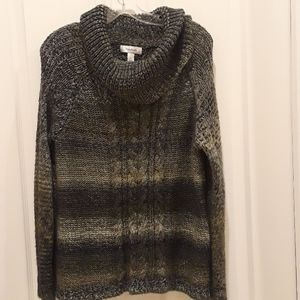Dress Barn cowl neck sweater, size XL